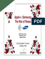 Apple Versus Samsung