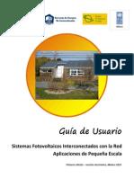 Guía de Usuario SFVI Pequeña Escala-V16-Versión Electrónica