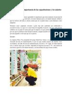 Análisis Sobre La Importancia de Las Capacitaciones y Los Salarios