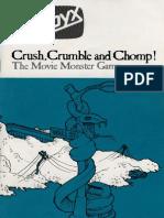 Crush Crumble Chomp Manual