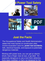 Hand and Power Tools Safety