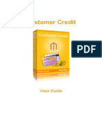 Customer Credit Magento Extension