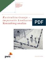 201307 Restrukturiranje Imperativ Konkurentnosti