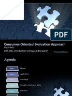 consumer-oriented evaluation approach