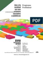 XVII Encuentro Rifrem - Programa Preliminar