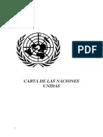 Carta de Naciones Unidas