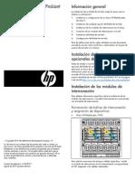 Blade de Servidor HP ProLiant BL460c G7 Instrucciones de Instalación