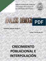 Crecimiento Poblacional e Interpolación(2)