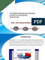 Tecnologías Aplicadas Para Reduccion de Danio en Excavaciones Subterraneas