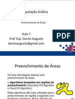 07 - CG - Preenchimentodereas