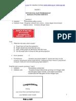 Contoh Soal UN Bahasa Inggris SMP Paket 1