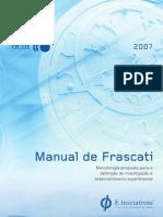 Manual de Frascati  - http://f-iniciativas-pt.blogspot.com