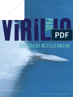 Paul Virilio 2010 the Great Accelerator