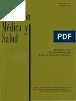 Educación Médica y Salud (27), 2
