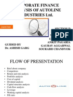 Analysis of Autoline Industries Ltd.