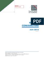 La note de conjoncture de l'Insee