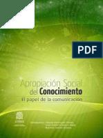 Libro Apropiacion Social Conocimiento 2013