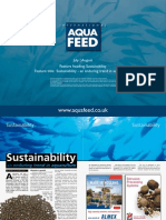 Sustainability - an enduring trend in aquaculture