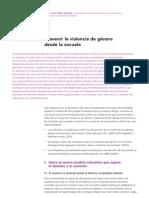 2. Prevenir la violencia de género desde la escuela. Mª Jose Díaz-Aguado