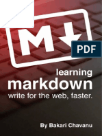 Learning Markdown- Write for the Web, Faster