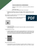 Ejercicios de Hidrostatica e Hidrodinamica
