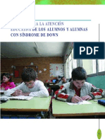 Guia Para La Atencion Educativa a Alumnos Con Sindrome de Down