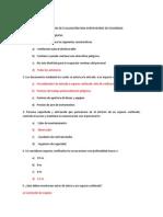 Cuestionario de Evaluación Para Supervisores de Seguridad