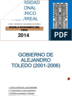 Modelo Economico Del Peru Grupo 7