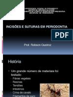 Incisões e Suturas Em Periodontia