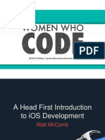 Headfirst Into IOS Development