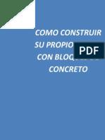Como Construir Su Propio Hogar Con Bloques de Concreto3