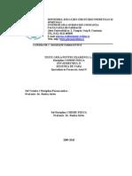 Chimie Fizica, Anul II, Sem II, 2009-2010