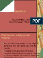 TALENTO HUMANO-REclutamiento y Selección