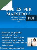 Que Es Ser Maestro1
