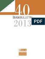 Isam Ingilizce Bulten 2013-Libre