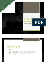 Comunicación y Expresión 14 -15 - 04 - 2014