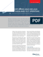 Agile and Lean in IT