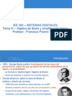04-Algebra de Boole y Simplificacion Logica Pdfversion