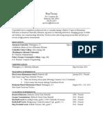 updated resume - ray treacy