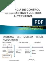 Audiencia de Control de Garantias y Justicia Alternativa