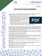 tratatele europene