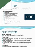 FILE SYSTEM IBM OS-PPT
