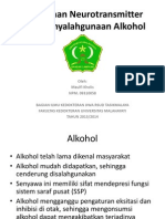 Perubahan Neurotransmitter Pada Penyalahgunaan Alkohol