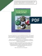 Ecological Indicator
