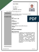 c.v. Lider Rafael 2014