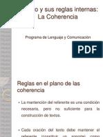 6- El Texto y Sus Reglas Internas - La Coherencia