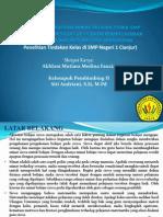 Presentasi Kelompk Pembimbing II Siti Andriandi, S. Si, M.pd