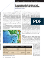 Application of Volumetric Seismic Discontinuity Attribute for Fault Detection Case Study Using Deep-water Niger Delta 3D Seismic Data