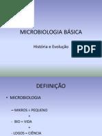 MICROBIOLOGIA INTRODUÇÃO
