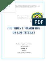 Origen de Los Titeres Historia
